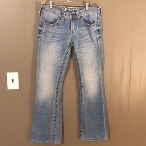 Low 5 flap jeans